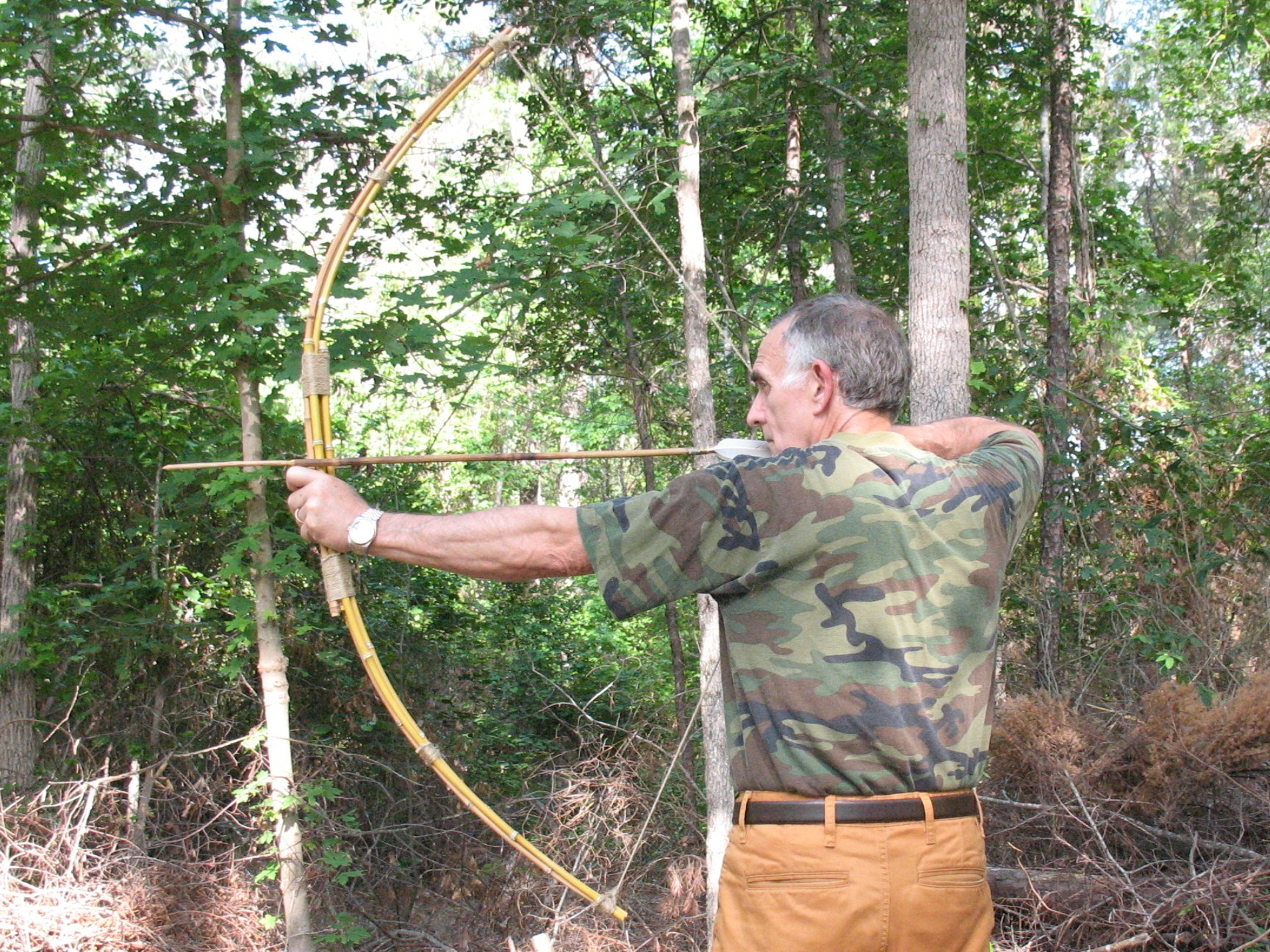 how to make a survival bow string