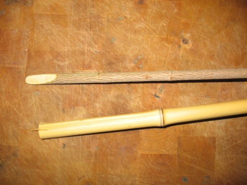 01 cane and stick