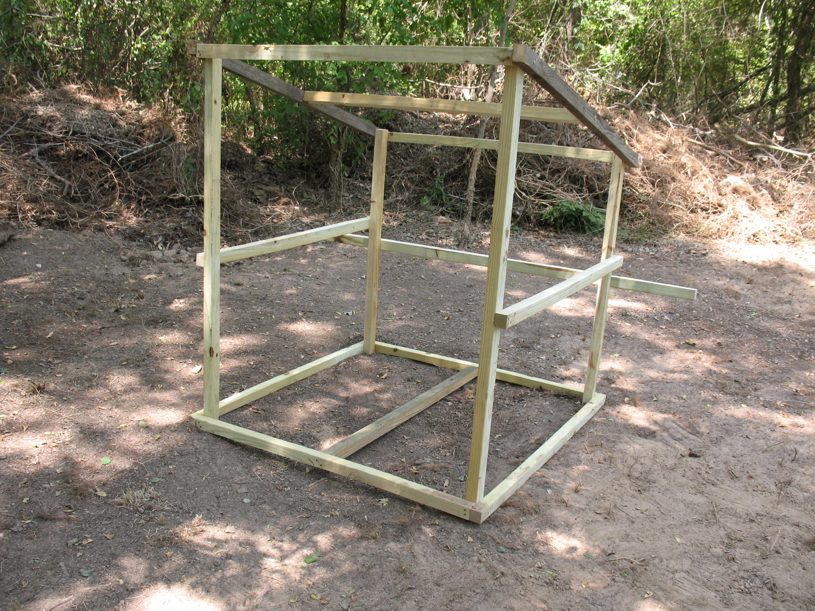 Build A Portable Goat Shed Sensible Survival