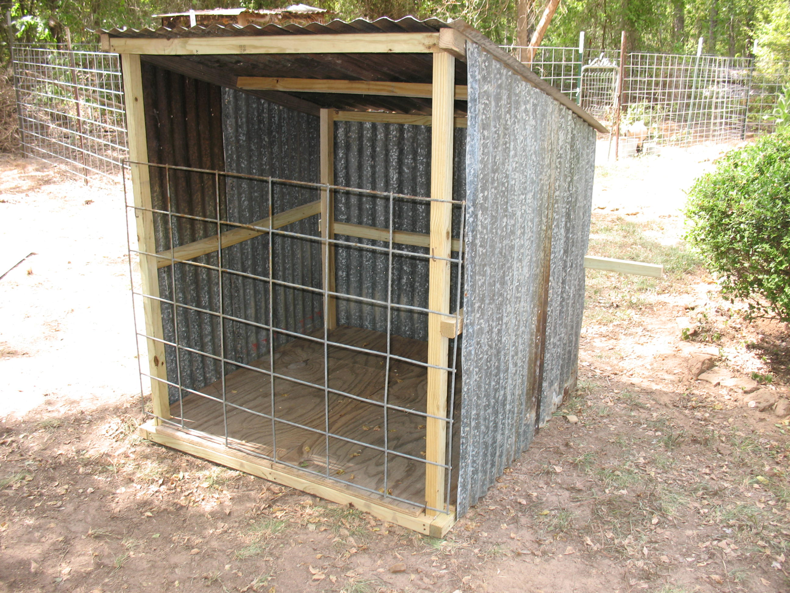 Build A Portable Goat Shed