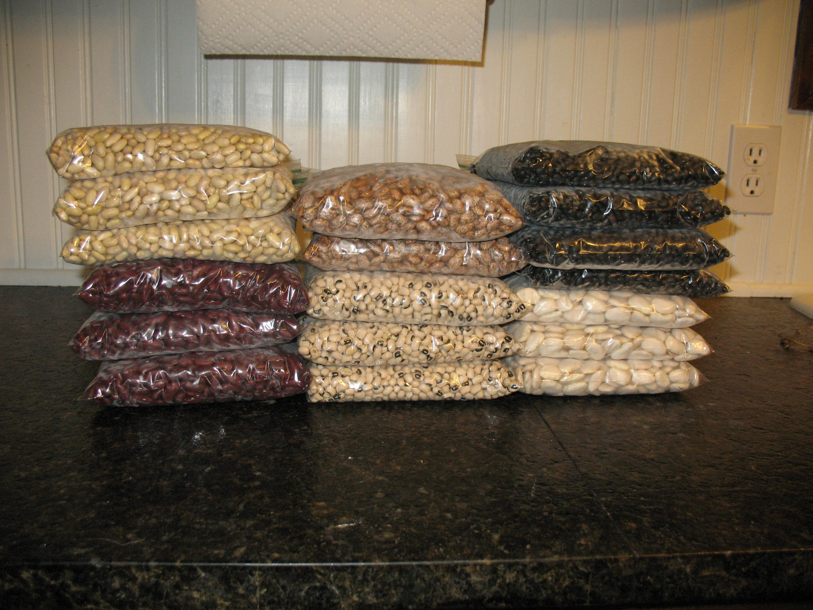Long Term Storage Of Dried Beans Sensible Survival
