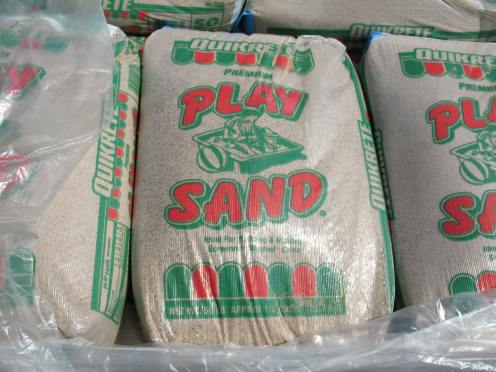 00 bagged sand