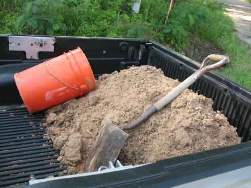 02 sand in truck