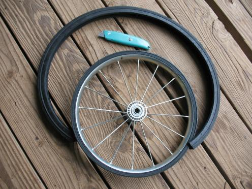04 cut tire